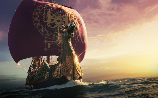 The Dawn Treader - A old sailing ship with a dragon figurehead