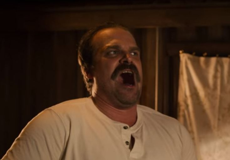 Hopper yelling