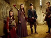 Lucy, Susan, Edmund, and Peter from the Narnia books