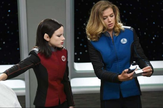 The Orville's security officer and XO.