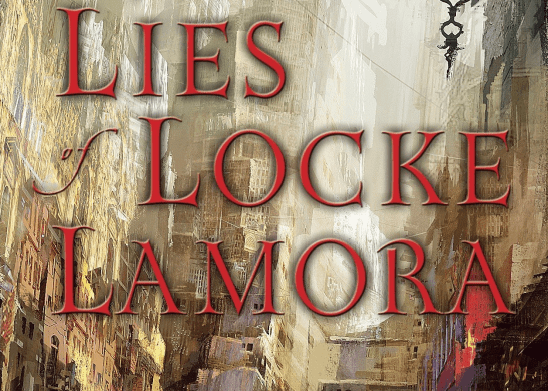 Cover art from the lies of Locke Lamora.