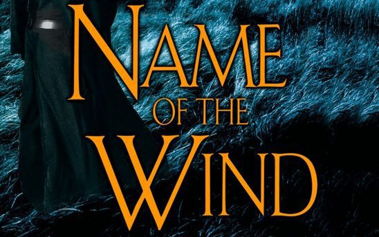 Cover art from the Name of the Wind