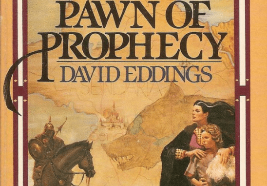 Cover art from Pawn of Prophecy