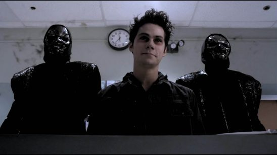 Evil Stiles and his minions from Teen Wolf
