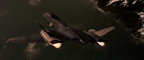 The X-Jet from the X-Men films.
