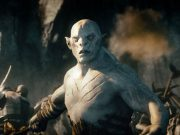 The White Orc from the Hobbit films.