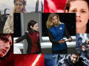 A collage of images from the Orville, Star Wars, X-Men, and Twilight