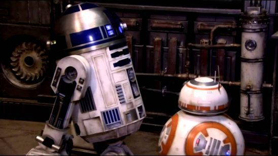 R2D2 and BB8
