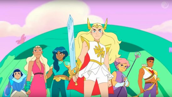The princesses from She-Ra
