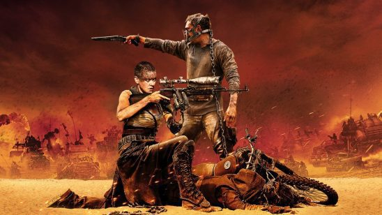 Max and Furiosa from Mad Max: Fury Road