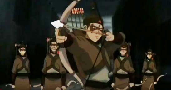 The Yuyan archers from Avatar