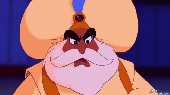 The Sultan from Disney's animated film Aladdin.