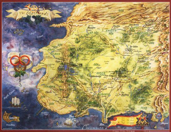 A map of Randland