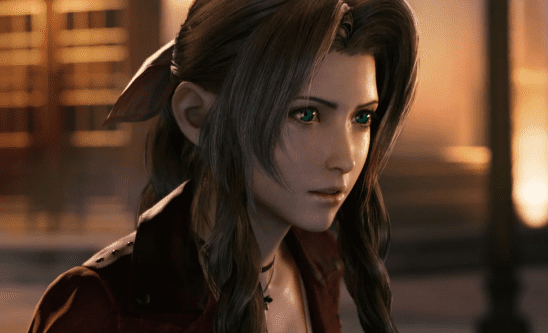 An image of Aerith from the remake.