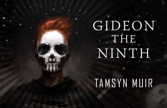 Cover art from Gideon the Ninth