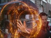 Doctor Strange using magic in Infinity War.