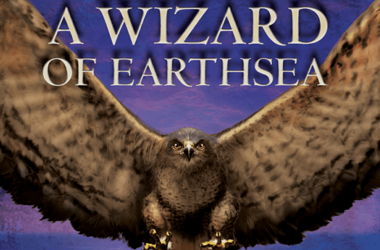 Cover art from A Wizard of Earthsea