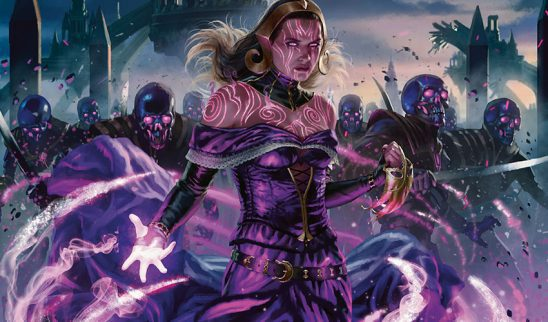 Art from the MTG card Liliana, Dreadlord General by Chris Rallis