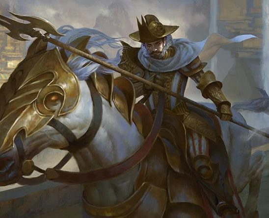 Art from the MTG card Paladin of Atonement by Lius Lasahido