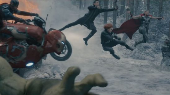 A group shot from Age of Ultron