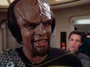 Worf on Star Trek: The Next Generation